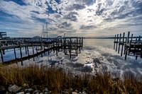 Swansboro Pier Reflection