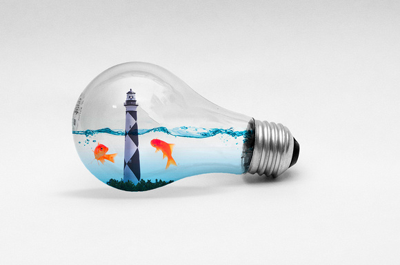 Lightbulb Water Lighthouse